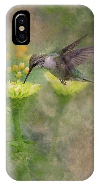 Hummingbird Art IPhone Case