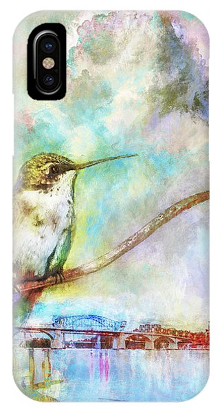 Hummingbird By The Chattanooga Riverfront IPhone Case