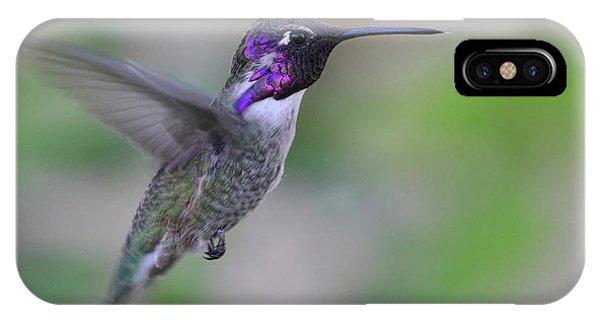 Hummingbird Flight IPhone Case