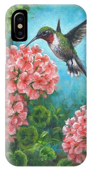 Hummingbird Heaven IPhone Case