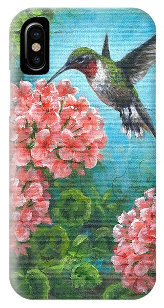 Hummingbird Heaven IPhone Case