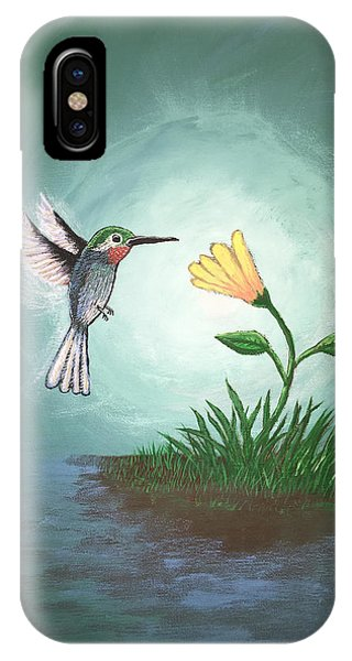 Hummingbird II IPhone Case