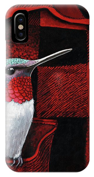 Hummingbird Memories IPhone Case