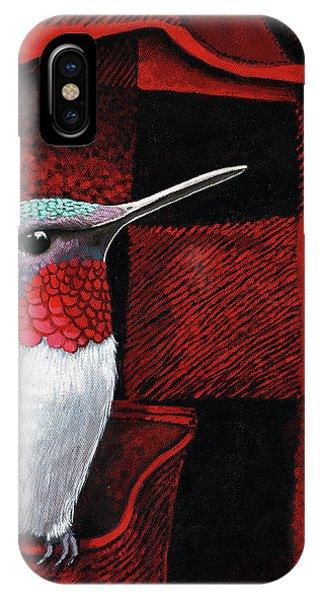 Hummingbird Memories IPhone Case
