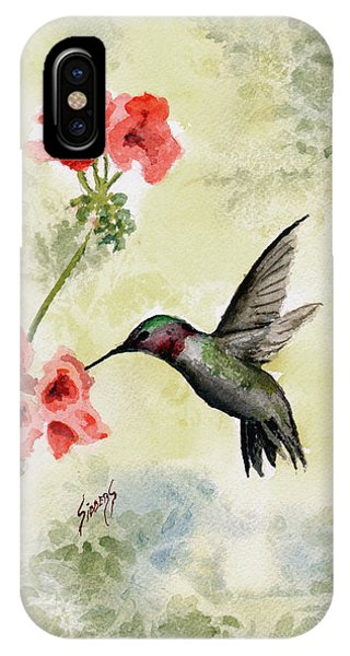 Hummingbird IPhone Case