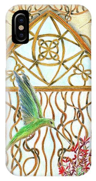 Hummingbird Sanctuary IPhone Case