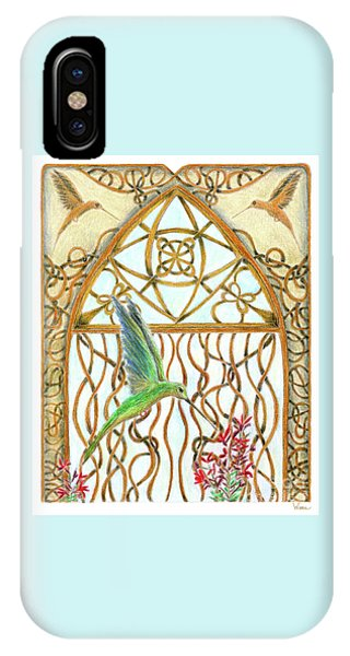 Hummingbird Sanctuary IPhone Case