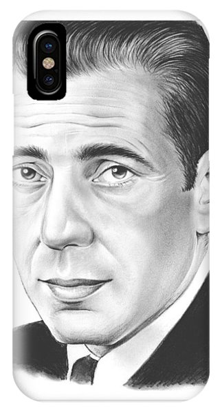 Falcon iPhone Case - Humphrey Bogart by Greg Joens