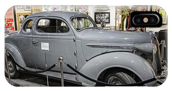Humphrey Bogart High Sierra Car IPhone Case