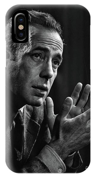 Humphrey Bogart - In Tribute To Yousuf Karsh IPhone Case