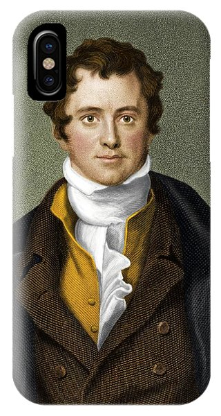 Humphry Davy, British Chemist Phone Case by Maria Platt-evans