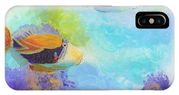 Humuhumu 6 IPhone Case