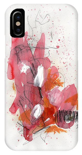 IPhone Case featuring the painting Hundelskurd by Rick Baldwin
