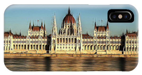 Hungarian National Parliament IPhone Case