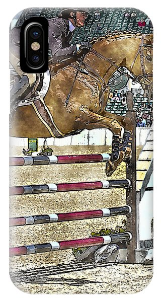 Hunter Jumper Equestrian IPhone Case