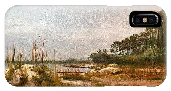 iPhone Case - Hunting Island Beach by Karen Langley