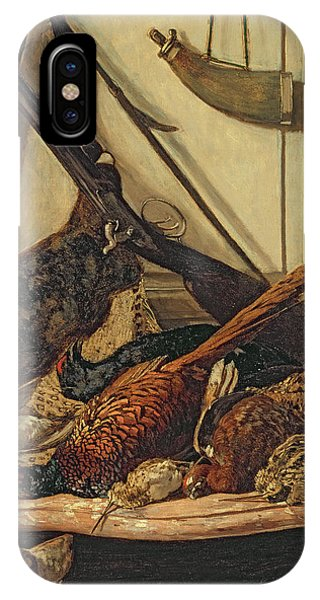 Pheasant iPhone Case - Hunting Trophies by Claude Monet
