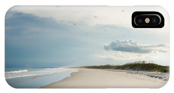 Shore iPhone Case - Huntington Beach State Park II by Ivo Kerssemakers