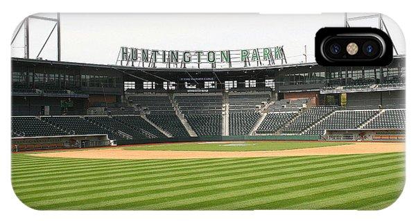 Huntington Park Baseball Field IPhone Case