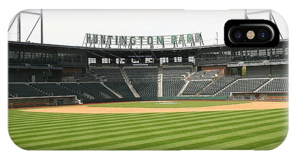 Huntington Park Baseball Field IPhone Case