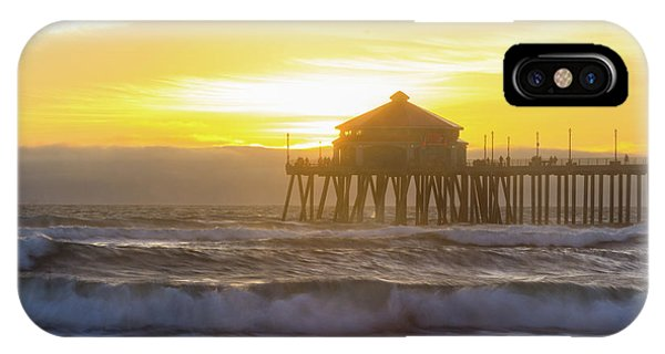 Huntington Peir 2 IPhone Case