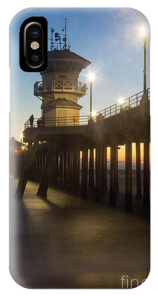 Huntington Peir  IPhone Case