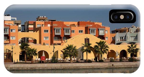 Hurghada Marina IPhone Case
