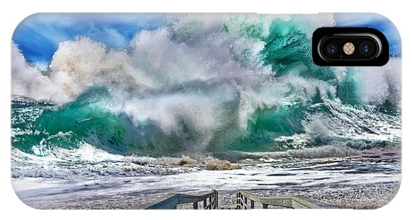 Hurricane Storm Waves IPhone Case