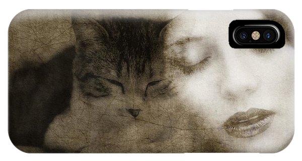 Kitten iPhone Case - Hurt So Good  by Paul Lovering
