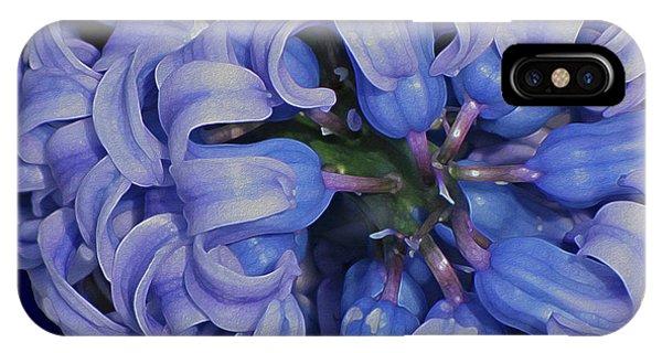 Hyacinth Curls IPhone Case
