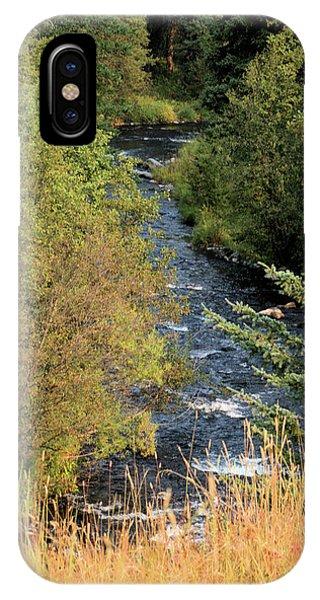 Hyalite Creek Overlook IPhone Case