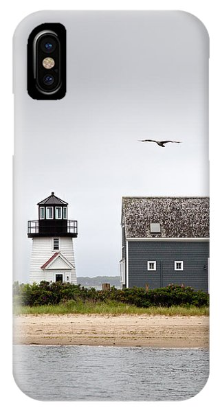 Hyannis Harbor Lighthouse Cape Cod Massachusetts IPhone Case