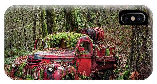 Hybrid Fire Truck IPhone Case