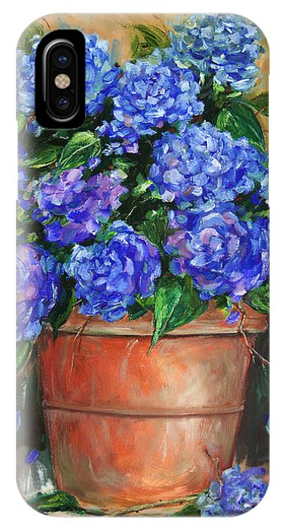 Hydrangeas In Pot IPhone Case