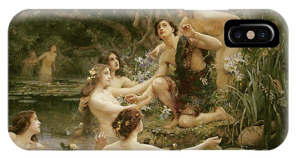 Awakening iPhone Case - Hylas And The Water Nymphs by Henrietta Rae