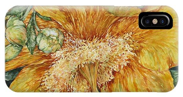 Hypericum Plant IPhone Case