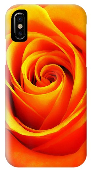 Hypnotic Orange IPhone Case