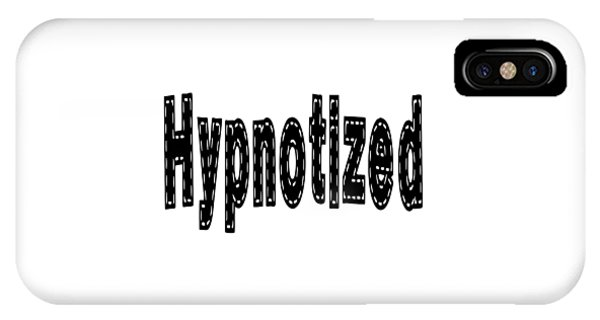 Hypnotized - Love Quote Print IPhone Case