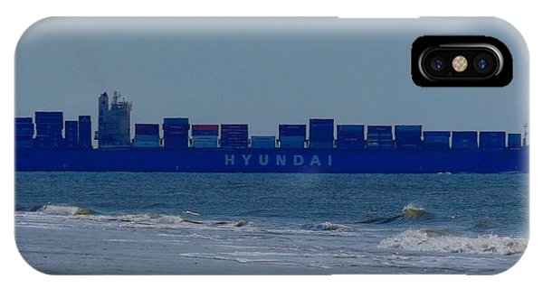 Hyundai Ship IPhone Case