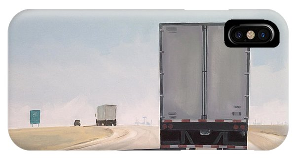 Truck iPhone Case - I-55 North 9am by Jeffrey Bess