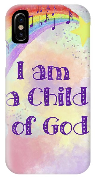 I Am A Child Of God 2 IPhone Case