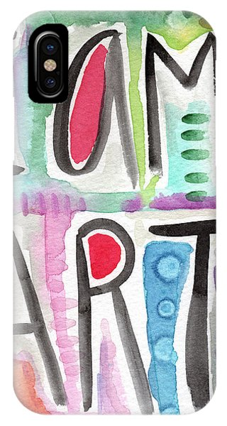 Visual iPhone Case - I Am Art by Linda Woods