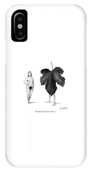 I Am Ashamed Of It All To Be Honest IPhone Case