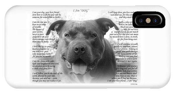 I Am Dog IPhone Case