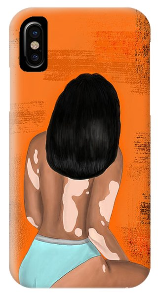 IPhone Case featuring the digital art I Am Enough by Bria Elyce