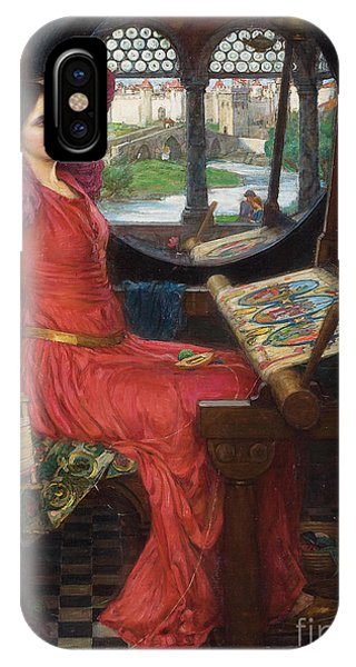 I Am Half-sick Of Shadows, Said The Lady Of Shalott IPhone Case
