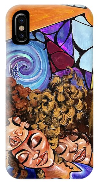 Love iPhone Case - I Am My Sisters Keeper by Artist RiA