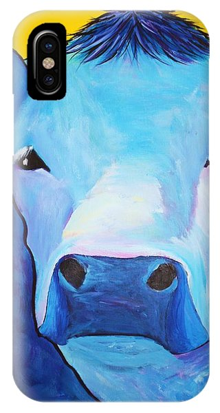 I Am So Blue IPhone Case