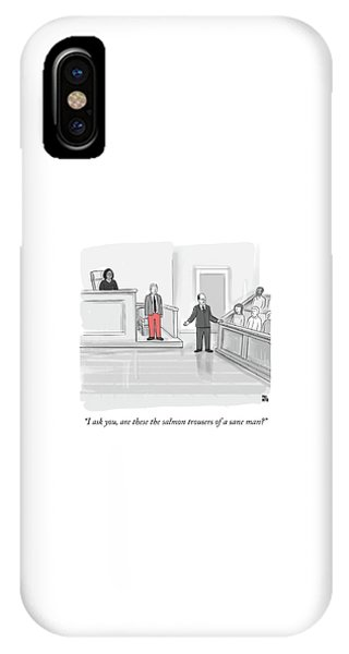 I Ask You IPhone Case
