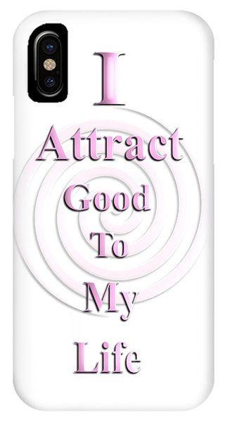 I Attract Pink IPhone Case